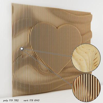 Heart Parametric Wall 2