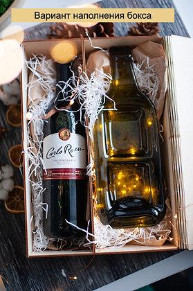 Подарочный винный набор новогодний