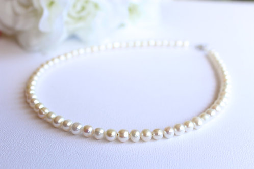 Real Pearl Necklace, Freshwater Pearls for Girls