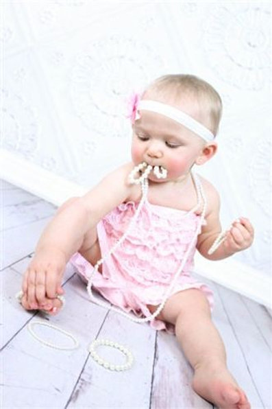 Photo Prop Pearls Baby/Toddler Pearl Necklace
