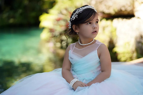 Pearl Necklace for Little Girls, Flower Girl