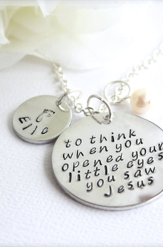 Baby Loss Keepsake Necklace Miscarriage Feetprint