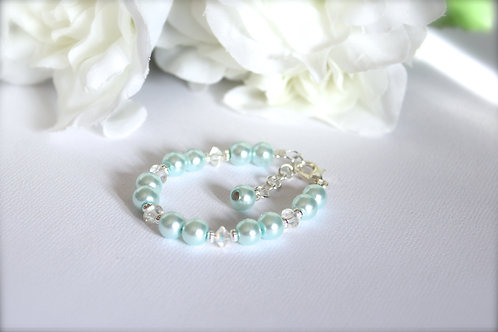 Baby to Bride Keepsake Bracelet Something Blue for Babies and Little Girls