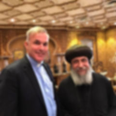 Rev Tafel with Coptic Leader Egypt.jpg