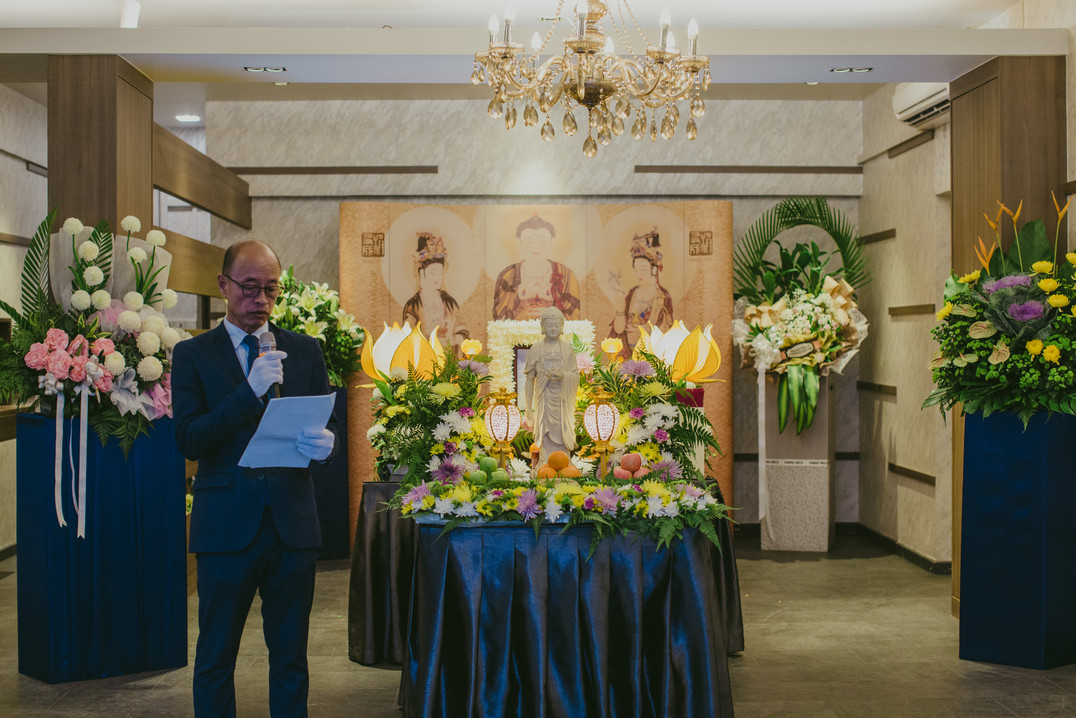 Buddhist Ceremony 佛教仪式