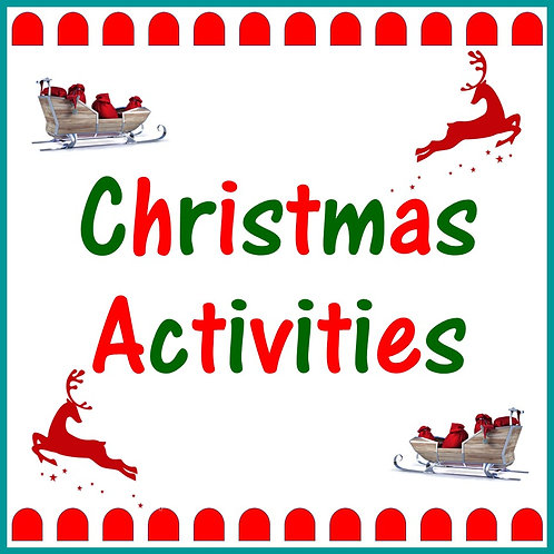 Christmas Activities Set Two  (7 to 9 Years)