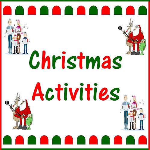 Christmas Activities Sets 1, 2 & 3