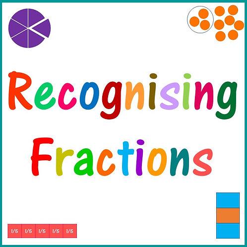 Recognising Fractions KS2