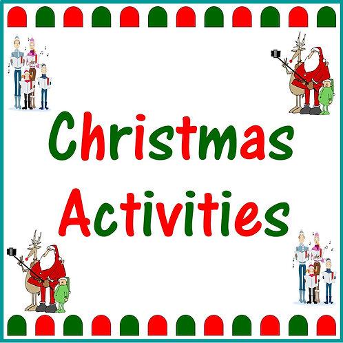 Christmas Activities Set Three (9 to 11 Years)