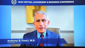 2020 国际领袖基金会 领袖及企业高峰会赵小兰、佛奇赞亚太裔抗疫贡献 团结社重建美国