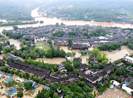 四川洪災嚴重 長江5號洪水流量將創紀錄