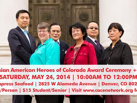 2014 Asian American Heroes of Colorado