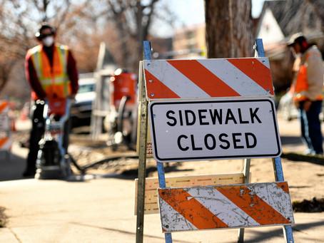 審計發現,丹佛的人行道維修項目需要修復