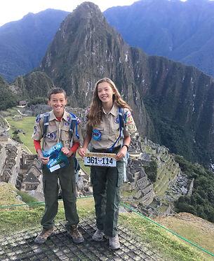 1 Backpacking Merit Badge Machu Picchu P