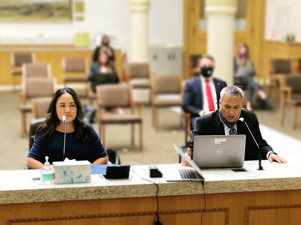 Nga Vương-Sandoval Brian Sugioka testify for bill