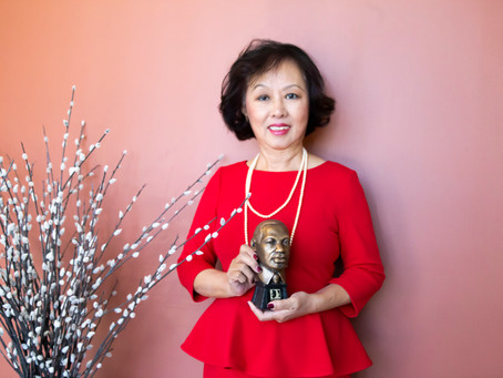 Asian Avenue Magazine receives the2021 MARTIN LUTHER KING, JR. BUSINESS AWARD