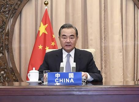 王毅:中國疫苗將成全球公共產品