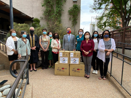 Taiwan donates thousands more masks to Colorado