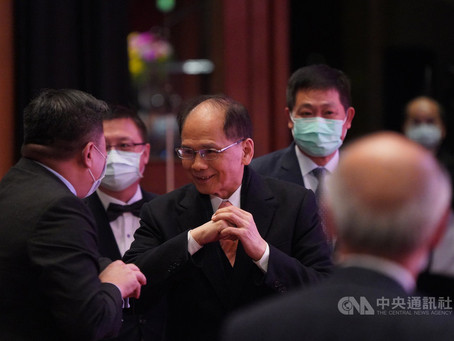 游錫堃籲政府與民間共同努力 以科技克服疫情