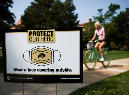 科羅拉多大學博爾德分校敦促學生自我隔離以應對病例激增