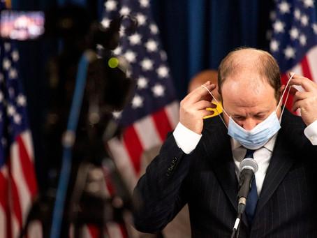 科州州長計劃召開 新冠肺炎救助特別立法會議