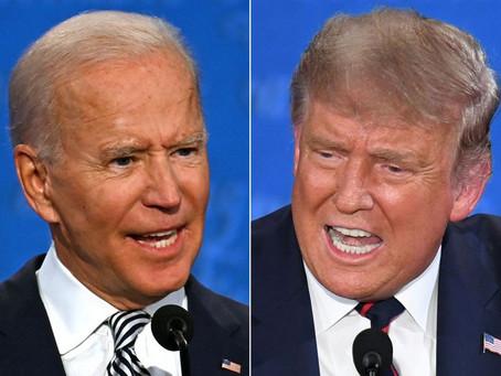 美總統大選最新全國民調 拜登仍維持 2 位數領先