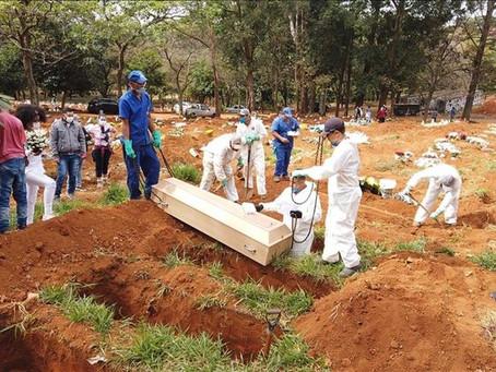 巴西單日染疫病故創新高 專家:全國封城才能防止疫情惡化