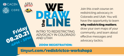 We Draw The Line Workshop