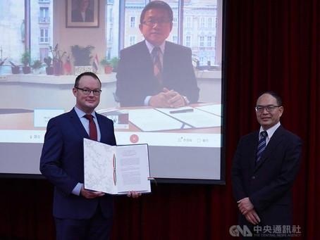台灣匈牙利簽署獎學金合作備忘錄 增進各領域連結