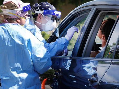 科州新冠肺炎病例再創新高 住院人數繼續攀升