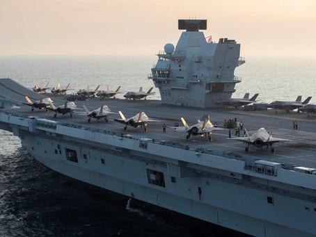 英航母伊麗莎白女王號擬停靠日本 與自衛隊聯合演習