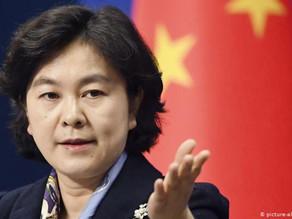 """華春瑩回應 BBC:稱其記者因""""揭露真相""""才離開大陸"""