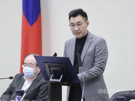 防疫優先取消反萊豬活動江啟臣:重心放議場攻防