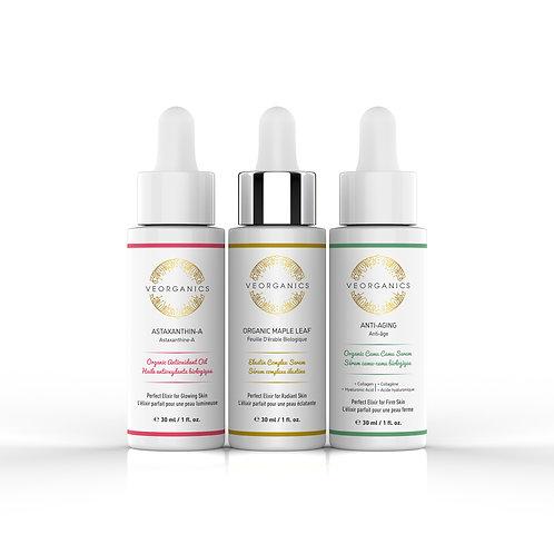 Moisturizing + Anti-Aging Skincare Trio