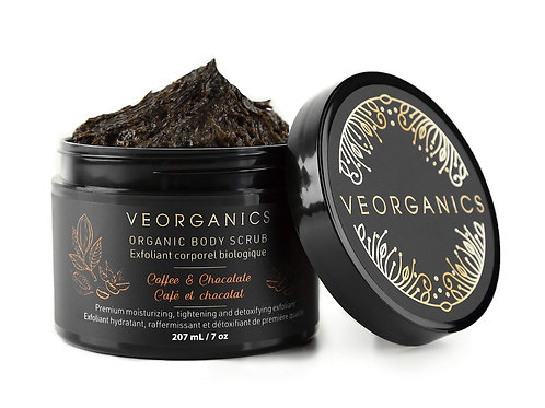 Organic Coffee & Chocolate Body Scrub