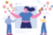 جمهور | وكالة دعاية واعلان | خدمة صناعة المحتوى وادارة حسابات التواصل الاجتماعي