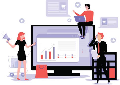 جمهور | خدمة صناعة المحتوى وادارة حسابات التواصل الاجتماعي