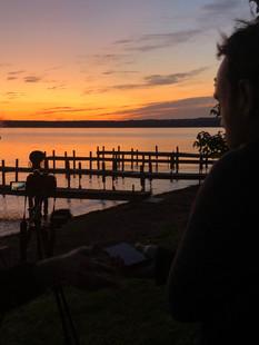 Sunrise on Seneca Lake