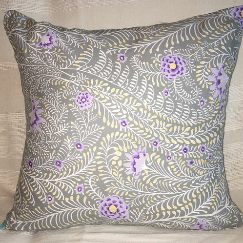Annette Blooming Ferns Cushion Cover