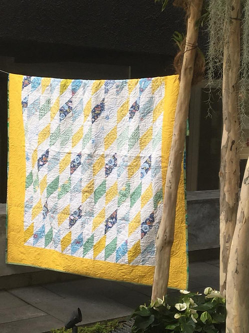 Yellow Diamond Quilt