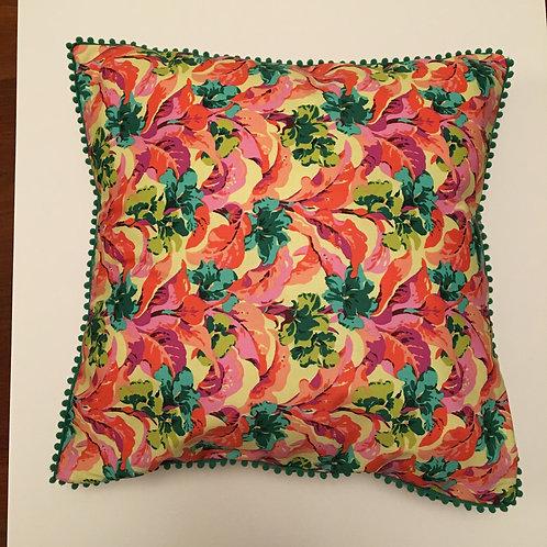 Pom Pom Cushion Cover