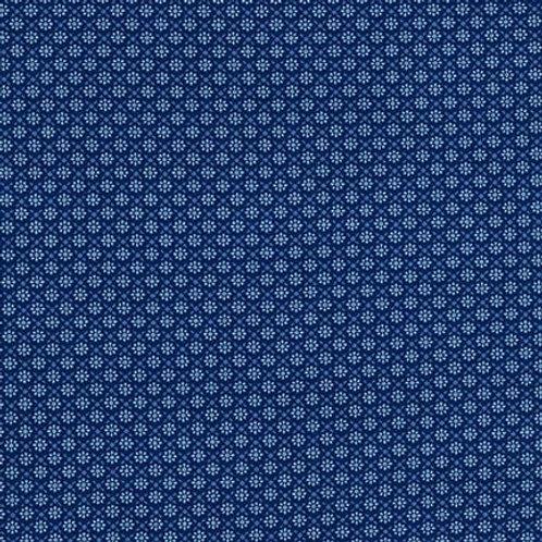 Sevenberry Petite Foulard Blue Circle Square