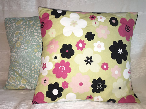 Duo Blossoms Cushion Covers