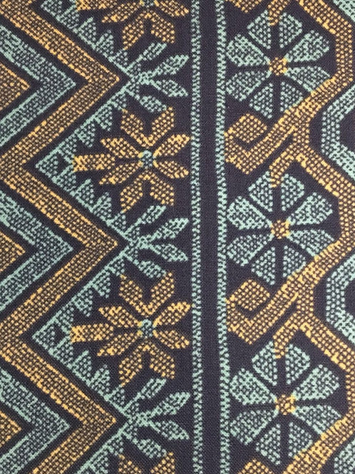 Amy Butler – Bright Heart Quilting Cotton – Cosmo Weave – Midnight
