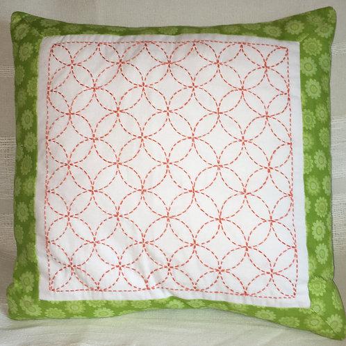 Kaori SashikoEmbroidered Cushion Cover
