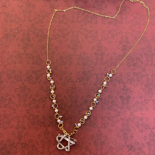 Mask Necklace - Design 2 - Elegant