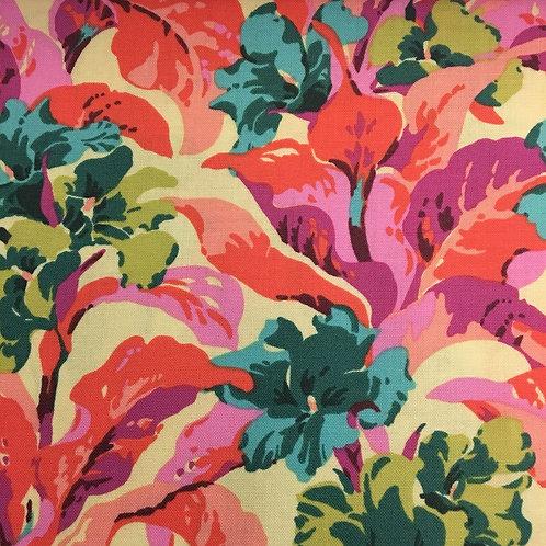 Amy Butler – Bright Heart Quilting Cotton – Tropi Canna – Peach