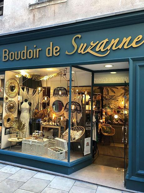 Le Boudoir de Suzanne, notre vitrine