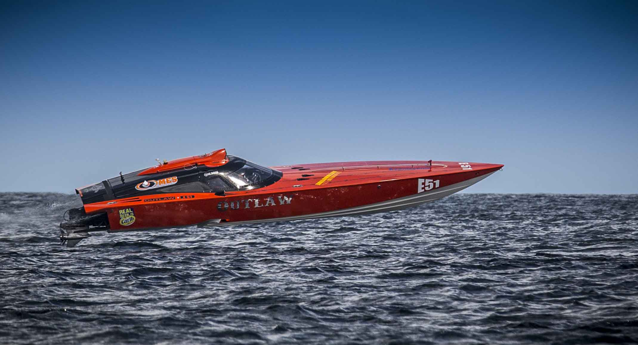 Power boat competes in Great Race