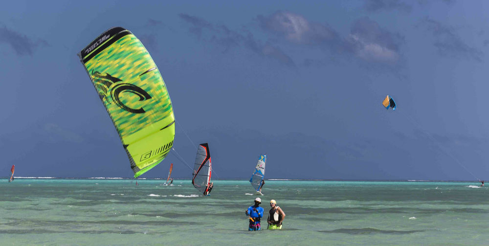Kite and wind surfing, Pigeon Point